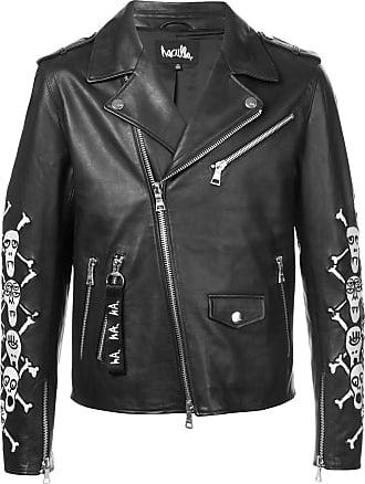 Haculla Apocalypstick patch biker jacket - Black