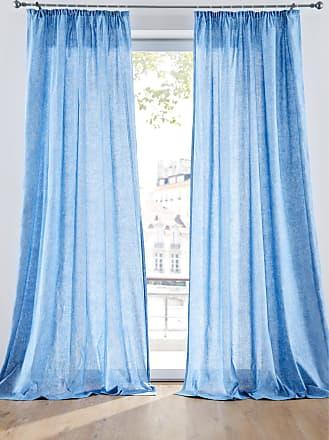 Bonprix Vorhang (2er Pack) blau, bonprix