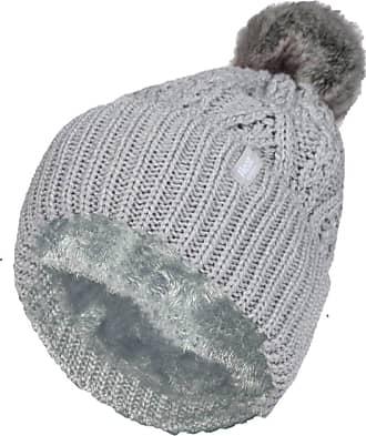 Heat Holders 1 Ladies Genuine Heatweaver Thermal Winter Warm HAT 5 Variations - Alesund, Nora, Solna, Areden, Lund (Light Grey - SOLNA)