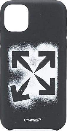 Off-white Stencil Arrows iPhone 11 case - Preto