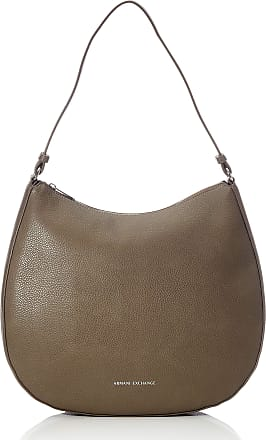 A X Armani Exchange Hobo Bag, Womens Shoulder Brown (Taupe), 10x10x10 cm (W x H L)