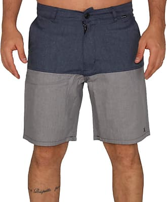 Hurley Bermuda Casual Hurley Confort - Azul - 40