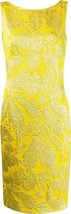 Aspesi Vestido tubinho midi - Amarelo