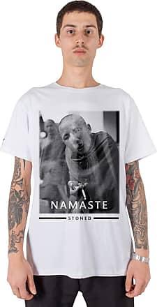 Stoned Camiseta Masculina Namaste - Tsmnamaste-br-00