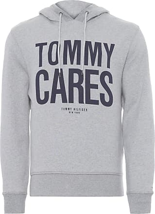 Tommy Hilfiger BLUSA MASCULINA CARES HOODY - CINZA