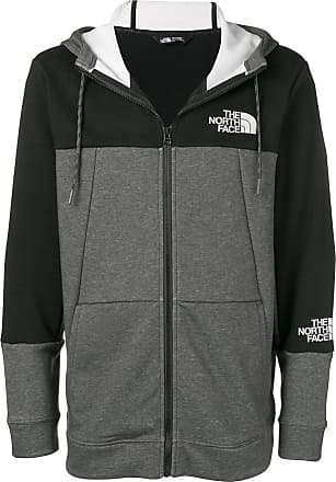 The North Face two-tone zipped jacket - Grey