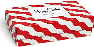 Happy Socks Womens Party Animal Singing Birthday Gift Box Socks, Multicoloured (Multicoloured 900), 4-7 (Size:36-40) (pack of 3)