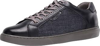 Kenneth Cole Mens KMF90832D Liam Sneaker Wide Navy
