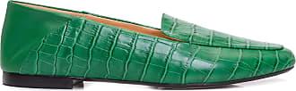 Luiza Barcelos Sapato Crocodilo Jade Grease - Verde