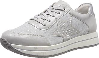 Remonte Womens D2500 Sneaker, Silver Silver Silver Argento, 6 UK