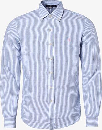 Polo Ralph Lauren Herren Leinenhemd - Slim Fit blau