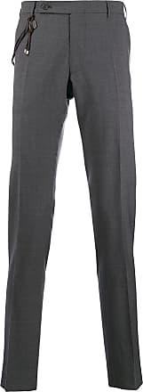Berwich Calça chino com detalhe de amarração - Cinza