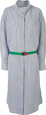 Kolor striped print shirt dress - Blue