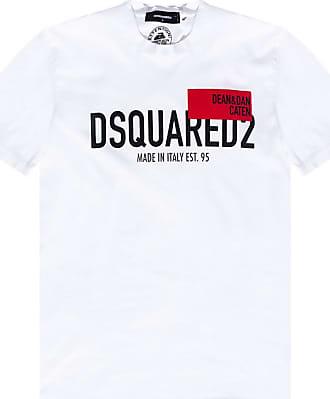 Dsquared2 Caten 1964  Men's T-shirt Black/&Yellow Colour /%100 Genuine Last 1