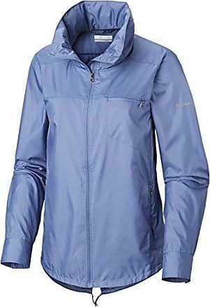 b8a4697fb Columbia Womens Sustina Springs Windbreaker, Blue Dusk, Medium
