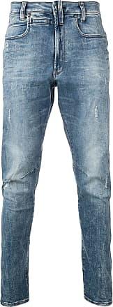 G-Star Raw Research Calça jeans cenoura - Azul