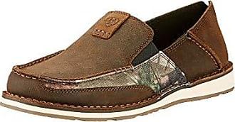 Ariat Ariat Mens Cruiser Slip-on Shoe, Palm Brown/Camo, 8 2E US