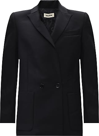 Zadig & Voltaire Wool Blazer Womens Black