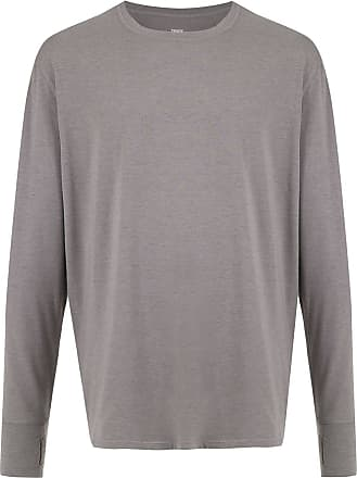 Track & Field Camiseta Thermatech mangas lngas - Mescla claro