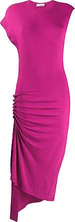Paco Rabanne asymmetric dress - Pink