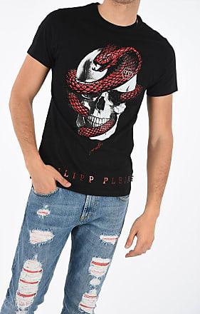 Philipp Plein Skull Printed T-shirt with Rhinestones Größe M
