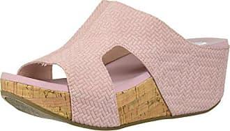 Yellow Box Womens Avenoir Sandal, Blush, 8.5 M US