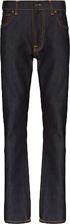 Nudie Jeans Calça jeans slim Lean Dean Dry - Azul