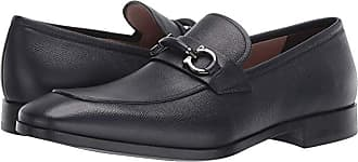 ac168825dea97 Salvatore Ferragamo Benford Loafer (Dark Blue) Mens Slip on Shoes