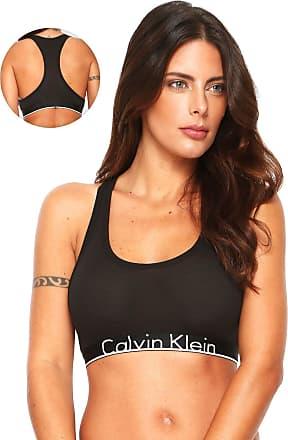 Calvin Klein Underwear Top Calvin Klein Underwear Nadador Elástico Preto