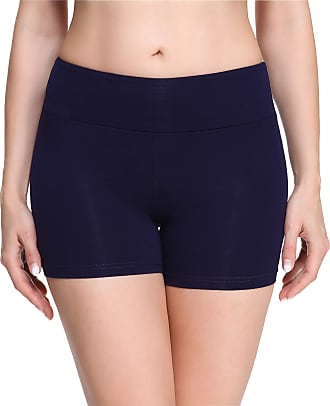 Merry Style Womens Shorts MS10-284(Navy Blue(Shorts), XL)