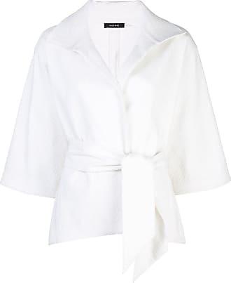 Natori Jaqueta branca com cinto - Branco
