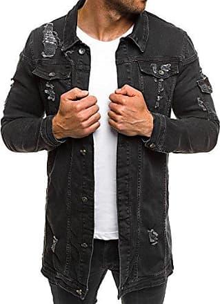 OZONEE Mix Herren Hoodie Funktionsjacke Casual Zip Sportswear Modern  Jeansjacke Übergangsjacke Jacke Denim Sweats Sweatjacke Frühlingsjacke d0bedd3dec