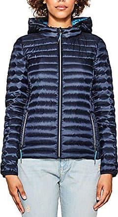 Esprit 077ee1g006, Blouson Femme, Bleu (Navy 400), Small 58cae0f38b7e