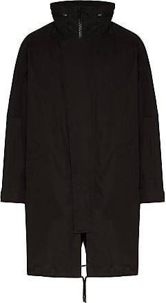 Yves Salomon Bachette two-piece down coat - Black