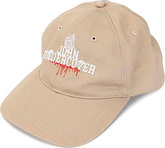 JohnUndercover Boné com logo - Marrom
