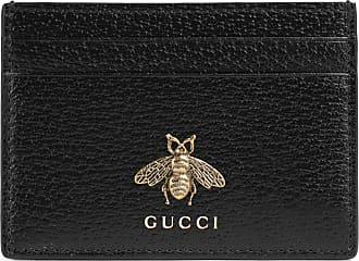 Gucci Animalier Kartenetui aus Leder
