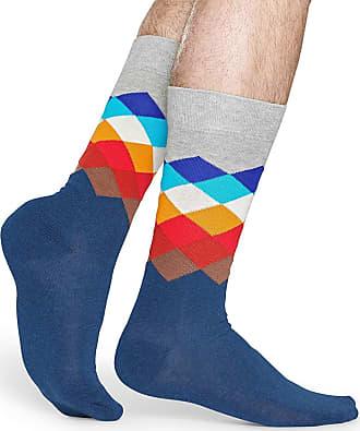 Happy Socks (UK 7-11, Faded Diamond)