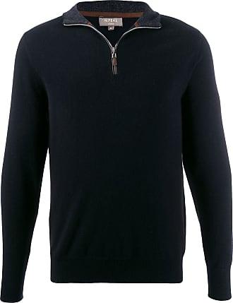 N.Peal zipped detail sweater - Black
