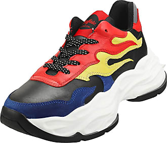 Buffalo Eyza Womens Platform Trainers in Black Multicolour - 6.5 UK