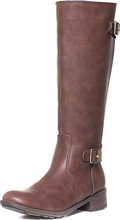 Lotus Beal Womens Brown Matte Long Leg Riding Boot - Size 4 UK - Brown