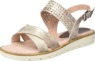 Marco Tozzi Womens 2-2-28600-24 Ankle Strap Sandals, Pink (Rose Metallic 592), 6.5 UK
