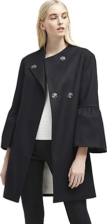 French Connection Cashmere Coat with Long Sleeves Women AH18