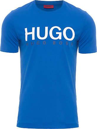 HUGO BOSS T-SHIRT MASCULINA DOLIVE - AZUL
