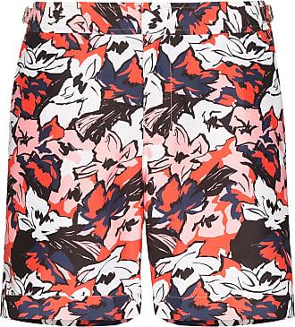 Orlebar Brown Short de natação Bulldog South Beach com estampa floral - Vermelho