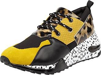 Steve Madden Sneaker 'Cliff' aus Veloursleder mit Animal Print