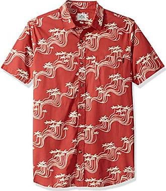 Rip Curl Mens Flower Field Short-Sleeve Shirt