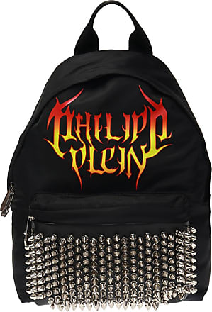 Philipp Plein Logo Backpack Mens Black