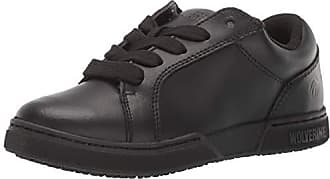 Wolverine Mens Urban Eatery Oxford Industrial Shoe, Black, 11.5 Extra Wide US