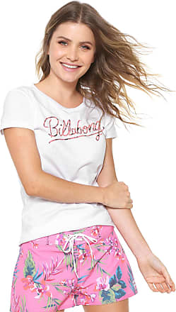 Billabong Camiseta Billabong Dream Flower l Branca 69896d3431e