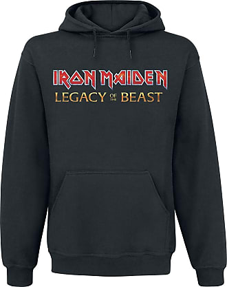 06c1840b3571 Iron Maiden WINTER SALE - Iron Maiden - Eddie On Bass - Kapuzenpullover -  schwarz